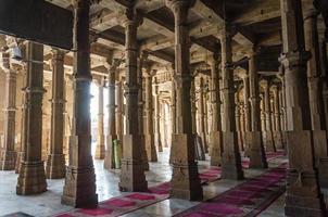 jama masjid moskee in ahmedabad, gujarat foto