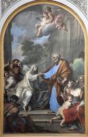rome - de opstanding van tabitha foto