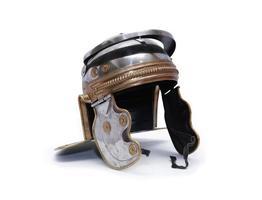 oude Romeinse helm foto