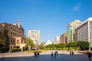 zhongshan zaal in de stad van taipei foto