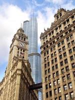 chicago gemengde architectuur foto