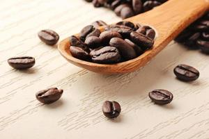 creativiteit die koffie en houten lepel - 2 foto