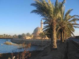 kleine moskee in Irak foto