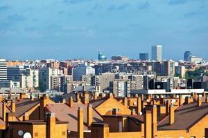 skyline van madrid