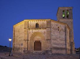 """tempelierskerk van """"vera cruz"""" waar kruis (Segovia, Spanje) foto"""