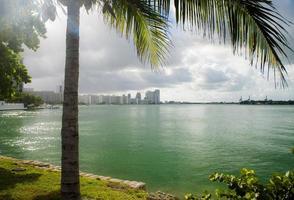Miami uitzicht op het strand