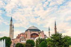 oude Hagia Sophia buitenkant foto