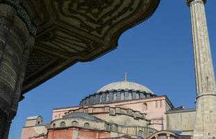 hagia sophia in istanbul turkije foto