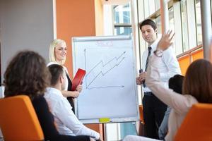 zakelijke partners bespreken foto