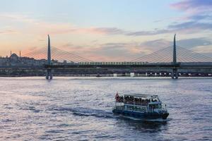 metrobrug, istanbul foto