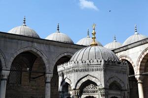 yeni (nieuwe) moskee, istanbul foto