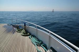 zeilen de zee van Marmara foto