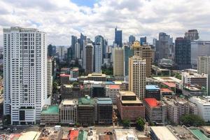 skyline van makati central business district 30 juli 2015 2 foto