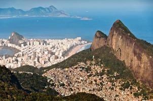 Rio de Janeiro Stedelijke en natuurcontrasten foto