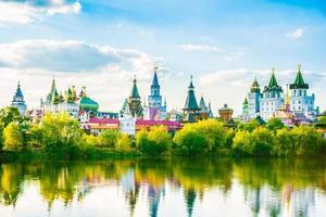 Izmaylovo kremlin in Moskou, Rusland foto