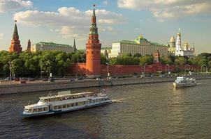 Moskou kremlin muur foto
