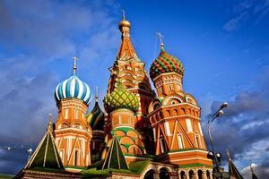 Saint basil kathedraal in Moskou foto