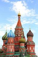 st. Basil's Cathedral, Moskou, Rusland foto