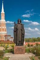 het monument voor sergius van radonezh, kolomna foto