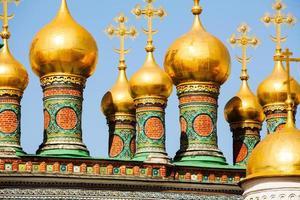 prachtig uitzicht op de kathedraal van de Verlosser foto