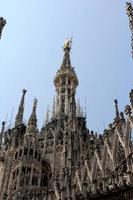 Dom van Milaan, Duomo di Milano, Italië foto