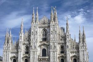 kathedraal duomo in Milaan Italië foto