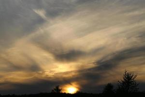 foto zonsonderganghemel