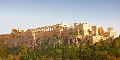 parthenon, de acropolis van athene