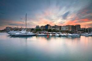 Zea Marina in Piraeus, Athene. foto