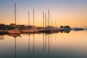 alimos marina in Athene.
