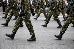 militaire laarzen foto