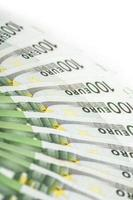 bankbiljetten. foto