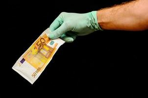 europese eurobankbiljet foto