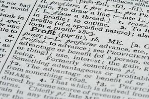 woordenboek definities foto