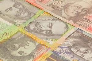 Australische munt foto