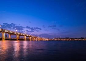 Cityscape van de stad van Azië - Zuid-Korea Seoel foto