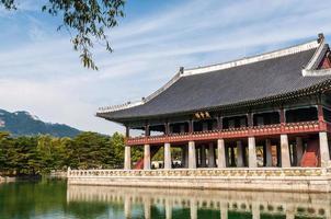 gyeonghoeru-paviljoen foto