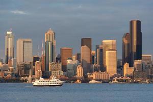 skyline van Seattle foto