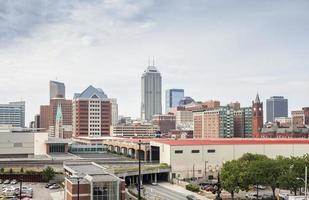 Indianapolis Downtown, Indiana, Verenigde Staten foto