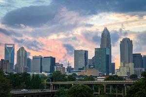 Charlotte, North Carolina Sunset 2 foto
