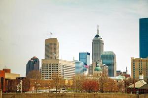 het centrum van Indianapolis foto