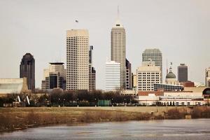 skyline van Indianapolis foto