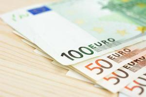 geld, euro valuta (eur) bankbiljetten