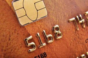 kredietkaart foto