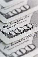 geld en bedrijfsconcept - dollars