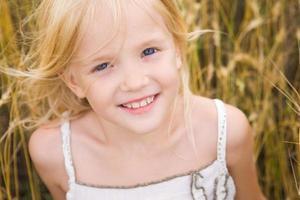 schattig meisje foto
