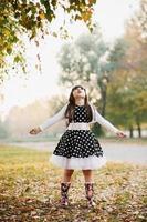 schattig klein meisje foto