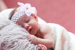 baby ontspannen foto