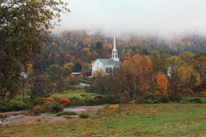 oktober in Stowe, Vermont foto