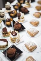 Italiaans buffet foto